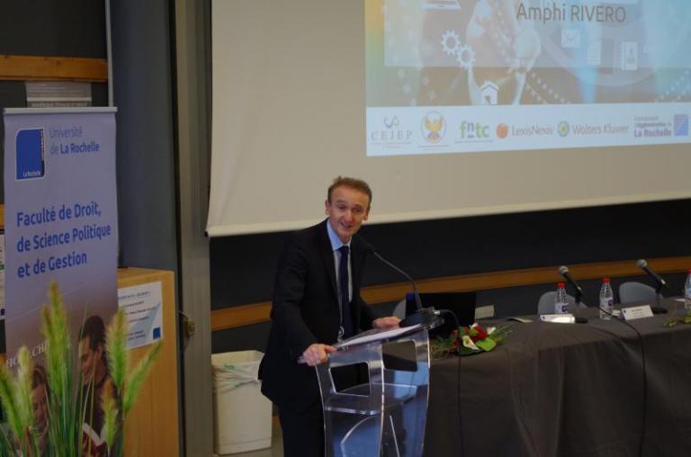 3 - Thierry POULAIN-REHM, Doyen de la Faculté de Droit, Science politique et de Gestion
