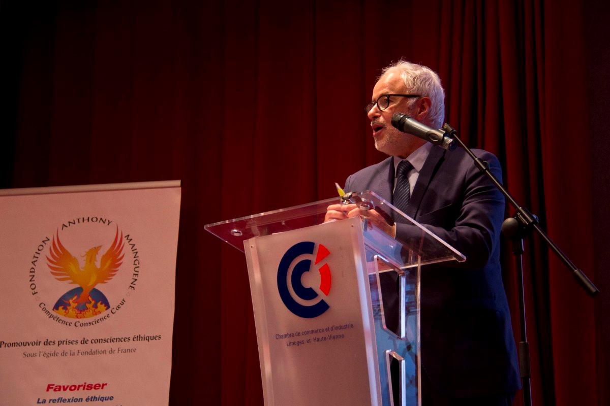 Mr MANKAR ALI - Président du groupe 3IL -Directeur Adjoint CCI Limoges