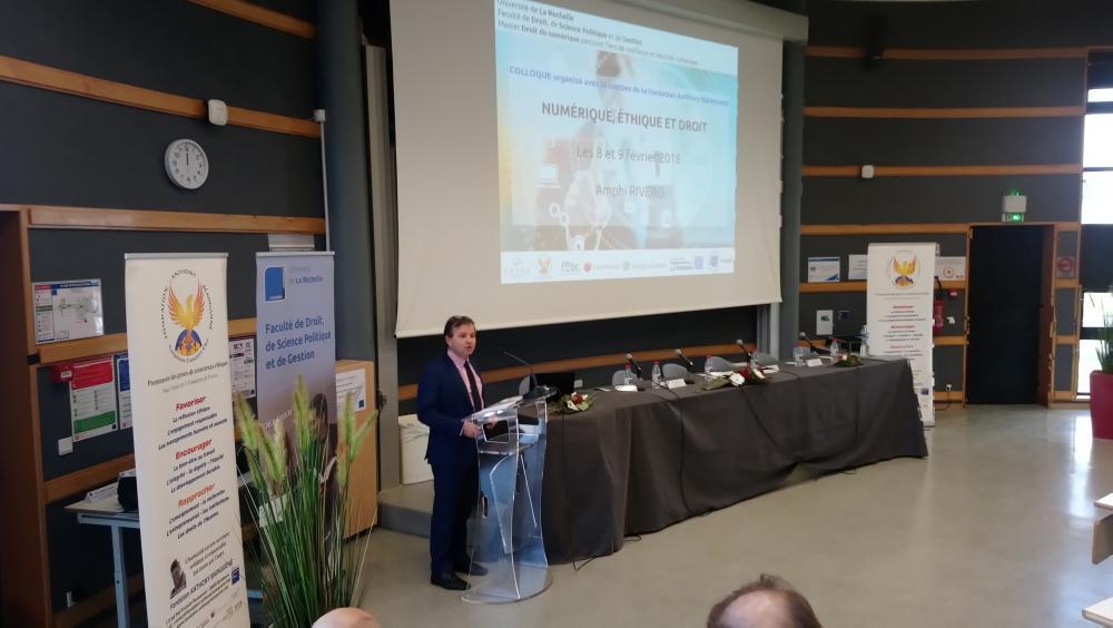 Jean-Marc OGIER, Président de l'Université de La Rochelle
