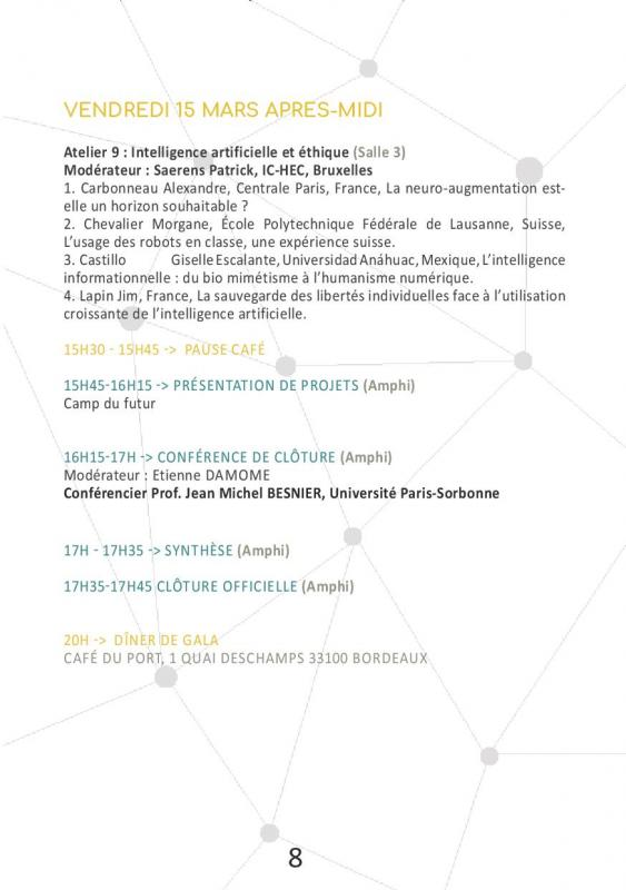 Programme page 13