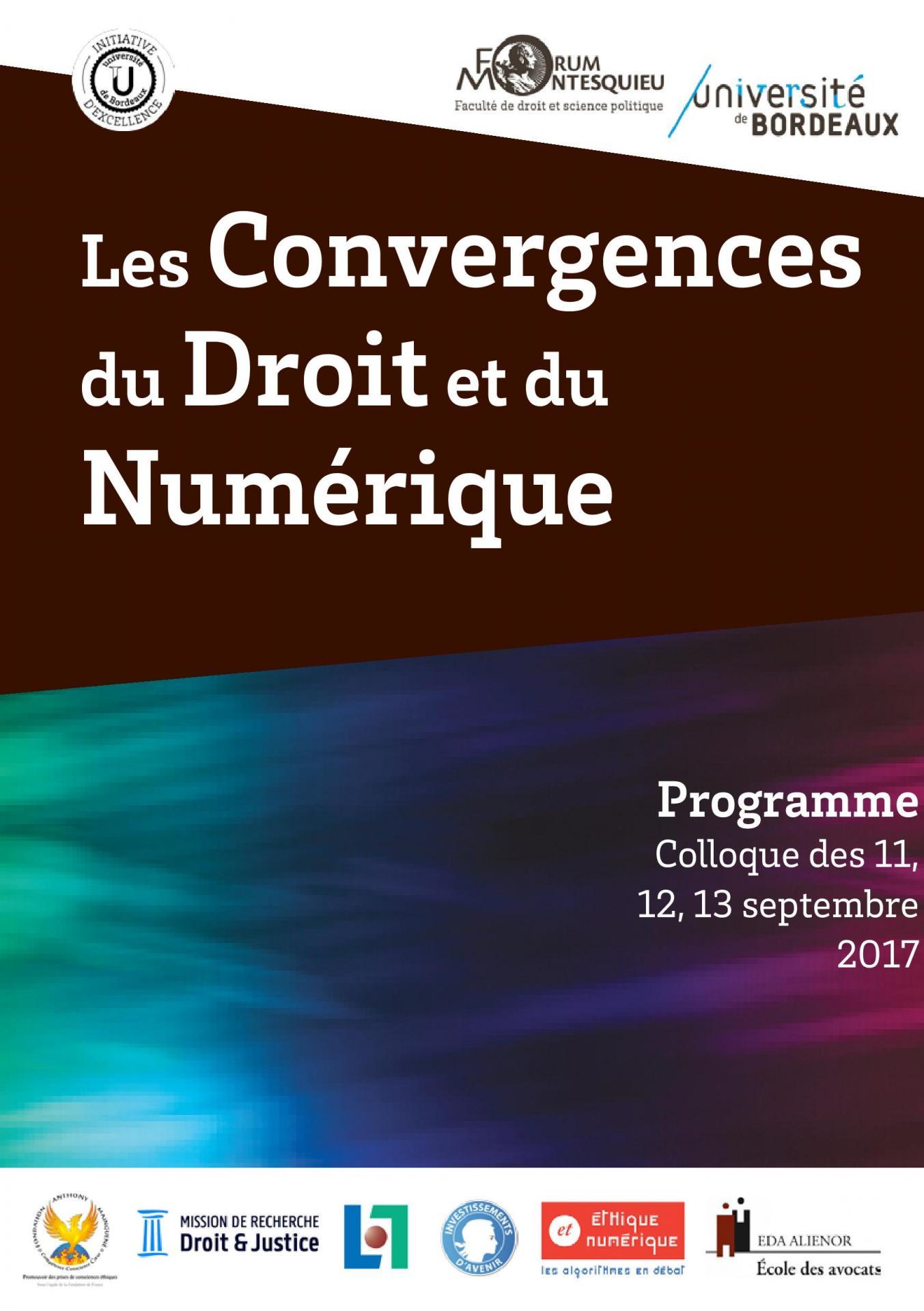 Programmes des convergences du droit et du numerique page 001