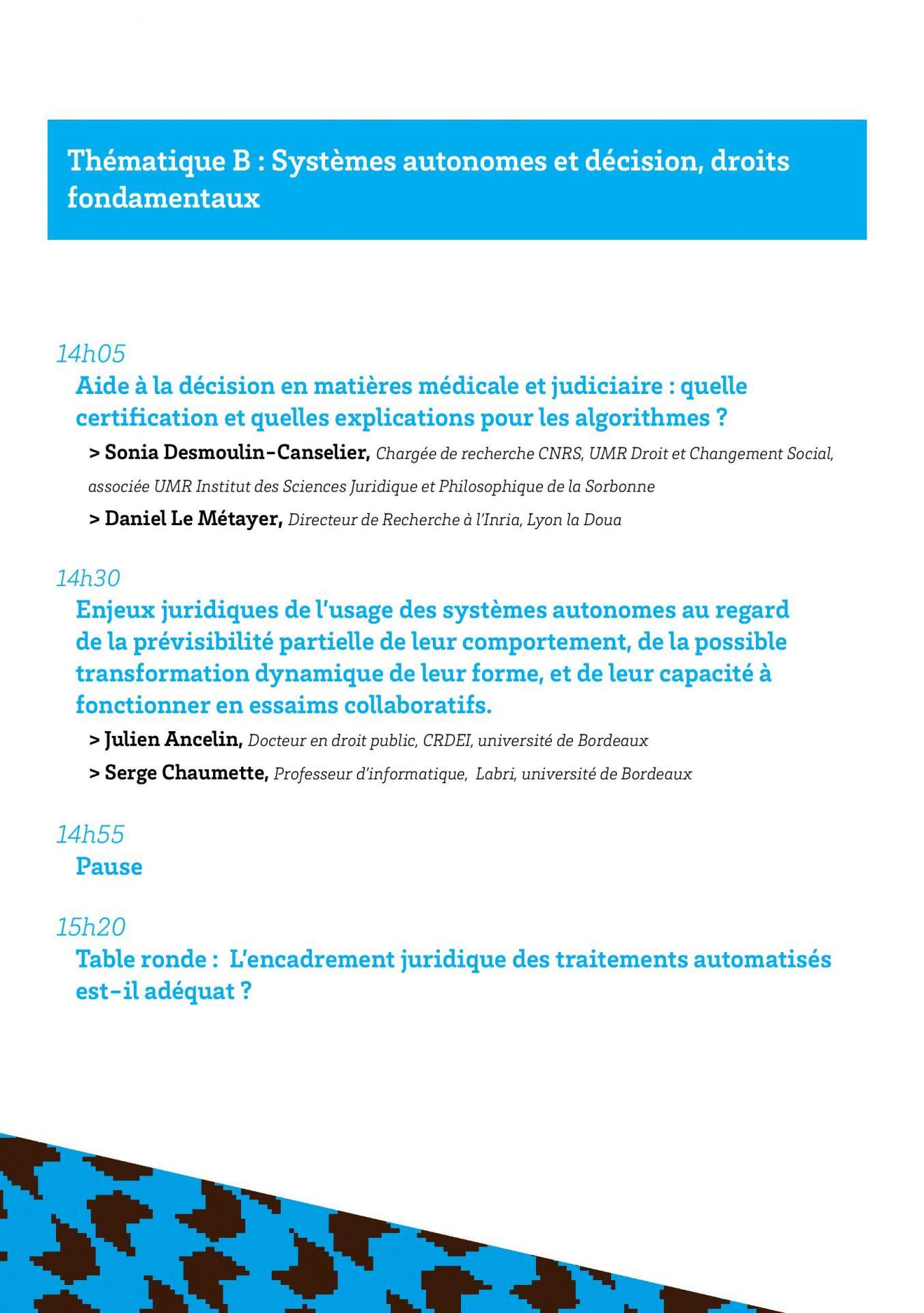 Programmes des convergences du droit et du numerique page 004