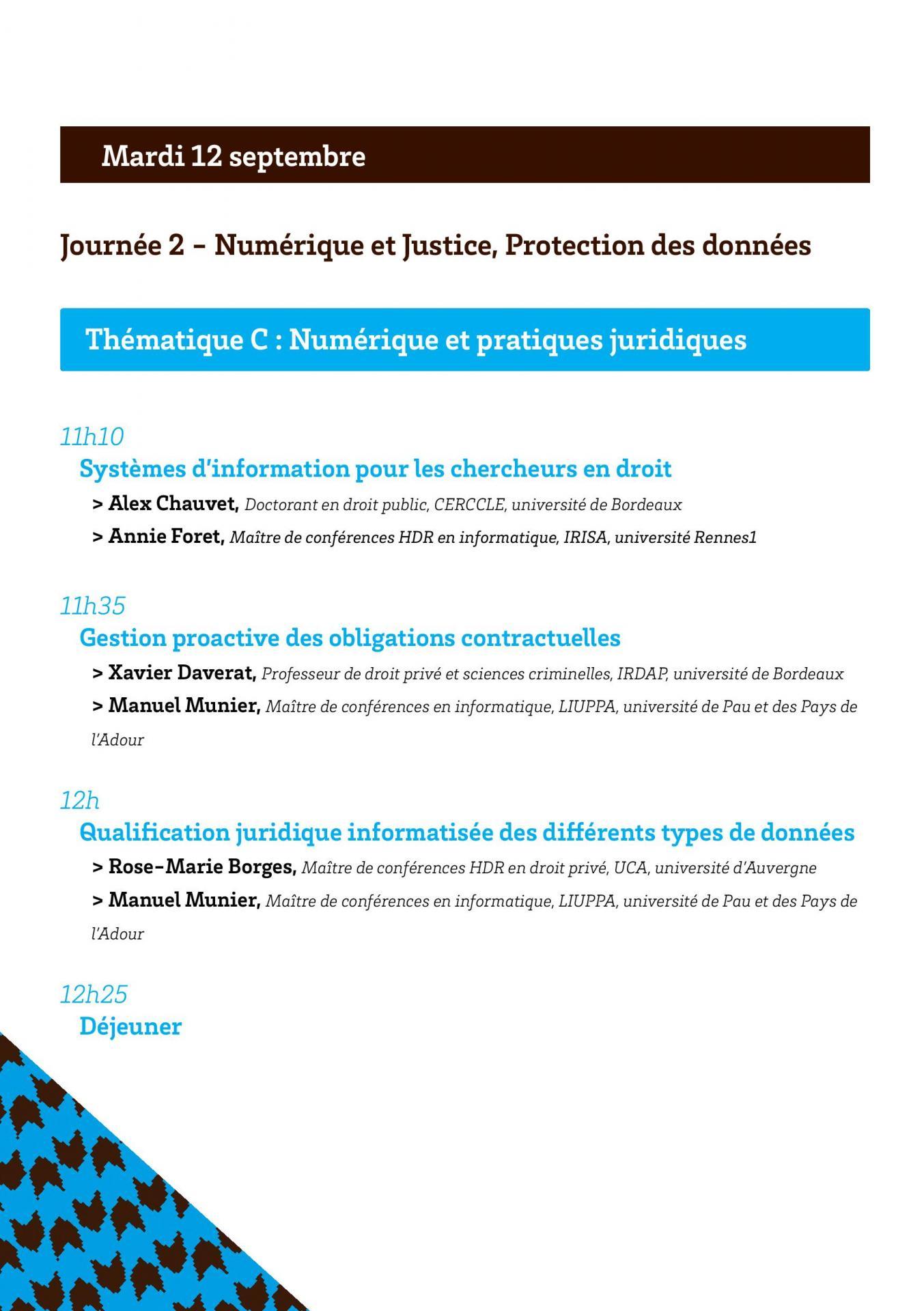 Programmes des convergences du droit et du numerique page 006