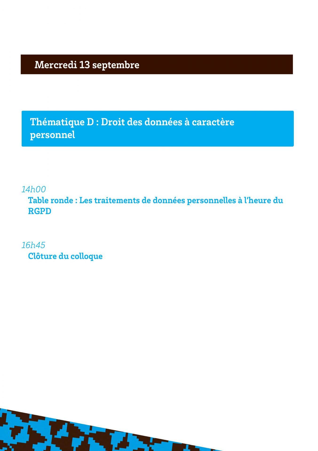 Programmes des convergences du droit et du numerique page 010