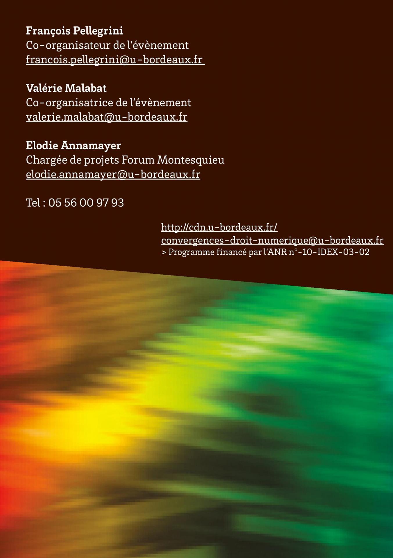 Programmes des convergences du droit et du numerique page 012